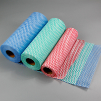 Household Disposable Cleaning Cloths / Nonwoven Cleaning Wipe