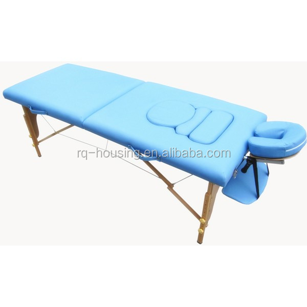 Adjustable and foldable salon furniture health beauty spa for Foldable beauty table