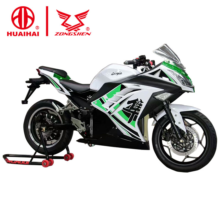 CE certification fast best cheap adult electric motorcycles for sale sport racing cross with price 72v3000w from zongshen china