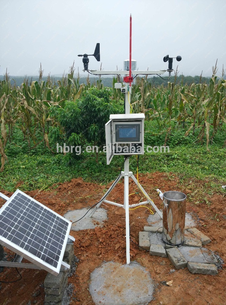 Professional wireless weather station with wind speed Relative humidity