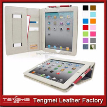 "New Arrival For IPAD Case 9.7"", For IPAD PU Leather Case For IPAD 4 Cover"