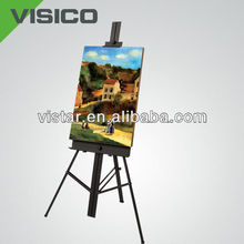 Artists dedicated metal easels aluminium alloy easels outdoor easal china supplier