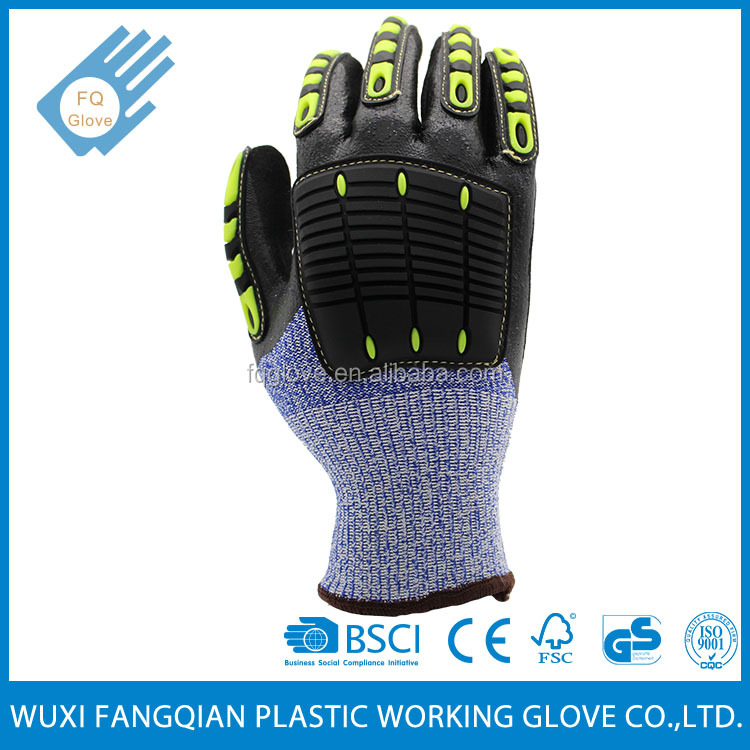 13Gauge HDPE Knitted Cut Resistant Working Gloves