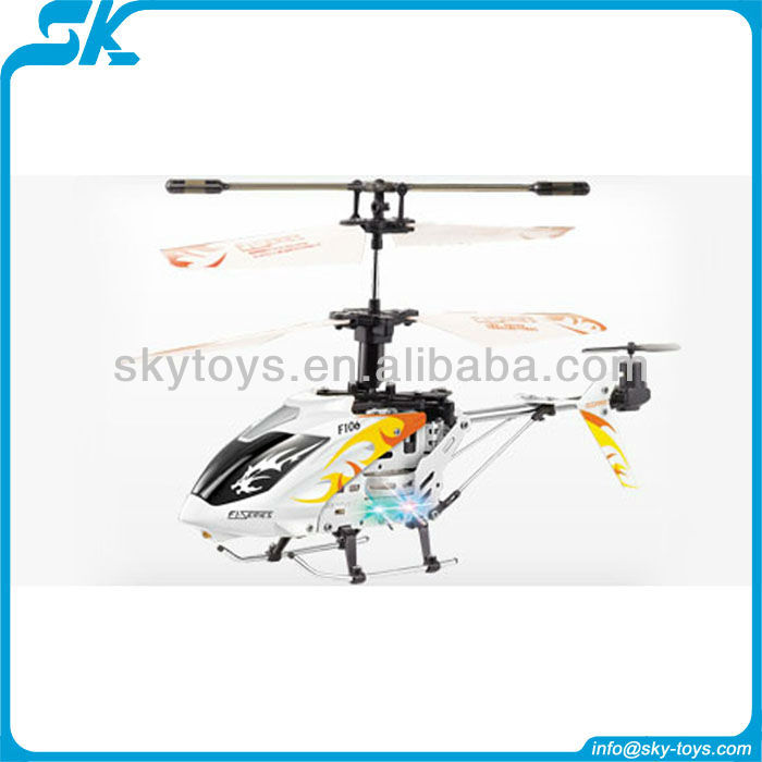 !F106 Mini 4CH RC Helicopter Metal Series with Gyro model tech rc planes