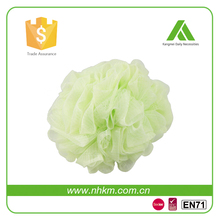 Factory beautiful natural LDPE bath pouf
