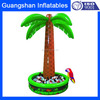 Custom creative pool party inflatable palm tree ice bucket