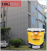 Good adhesion and mildew resistant advanced exterior wall paint