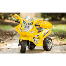 children LED light electric tricycle for baby ride on kids motorcycle