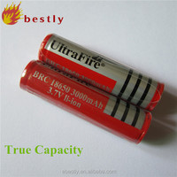 High Capacity 18650 3000mAh Ultrafire 3.7v icr 18650 li-ion rechargeable battery manufacturer 18650 li-ion battery 18650