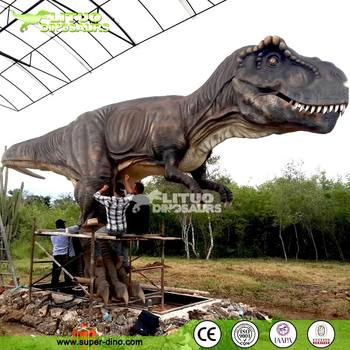Robotic T-rex Model for Dinosaur Park Huge Dinosaur King