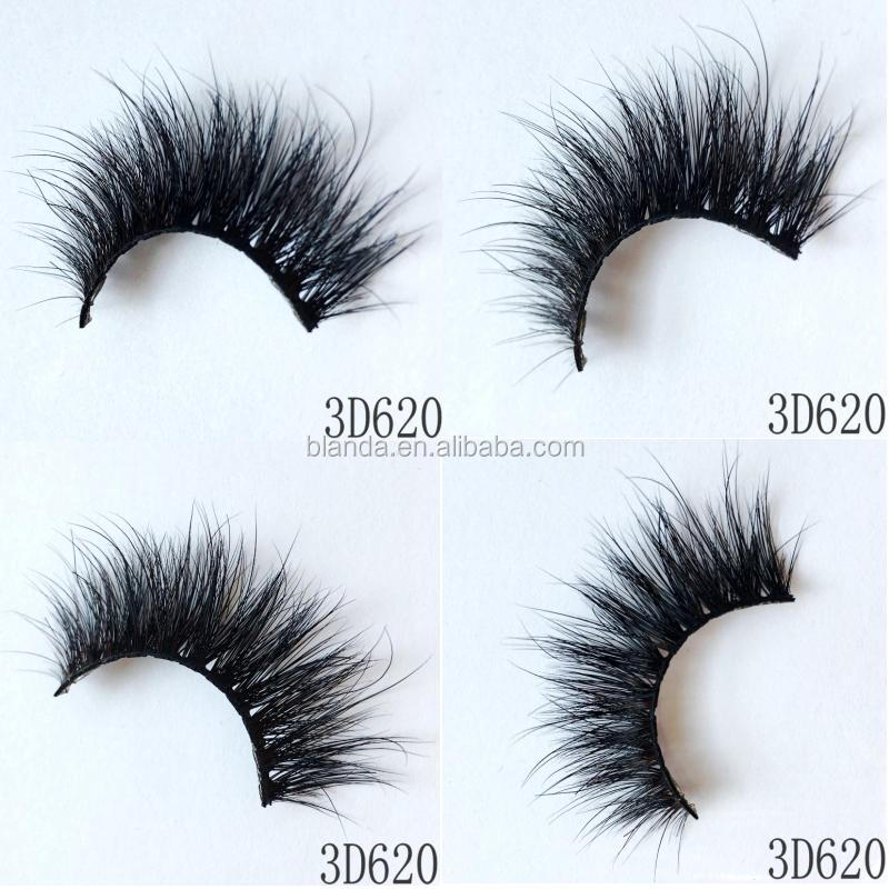 Wholesale Retail Most Beautiful Comfortable Glamorous Lashes 3D Mink Eyelashes False Eyelashes Made in China Factory