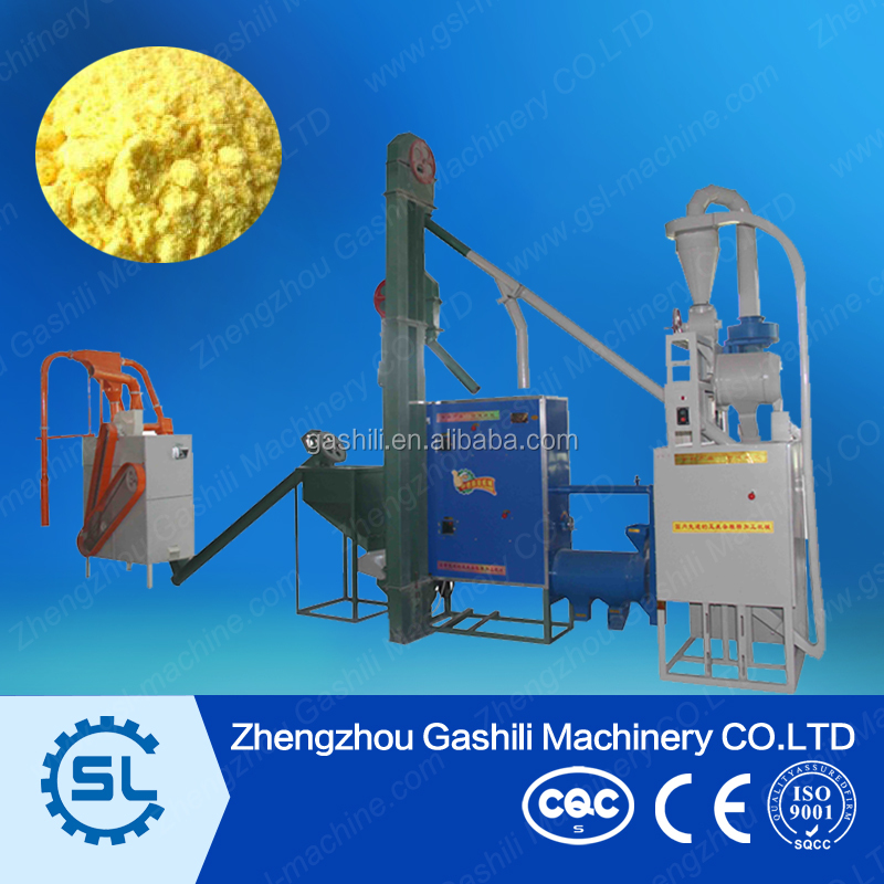 full automatic industrial maize powder making machines