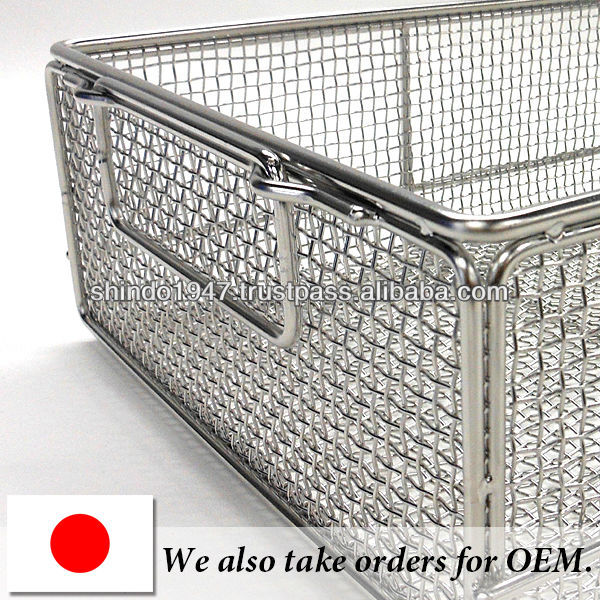 High quality baskets of stainless steel for dental ultrasonic cleaning equipment