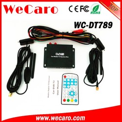 Wecaro WC-DT789 car digital tv tuner dvb-t2 for Singapore