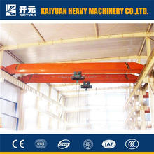 5 ton single girder electric hoist overhead crane for normal purpose or workshop