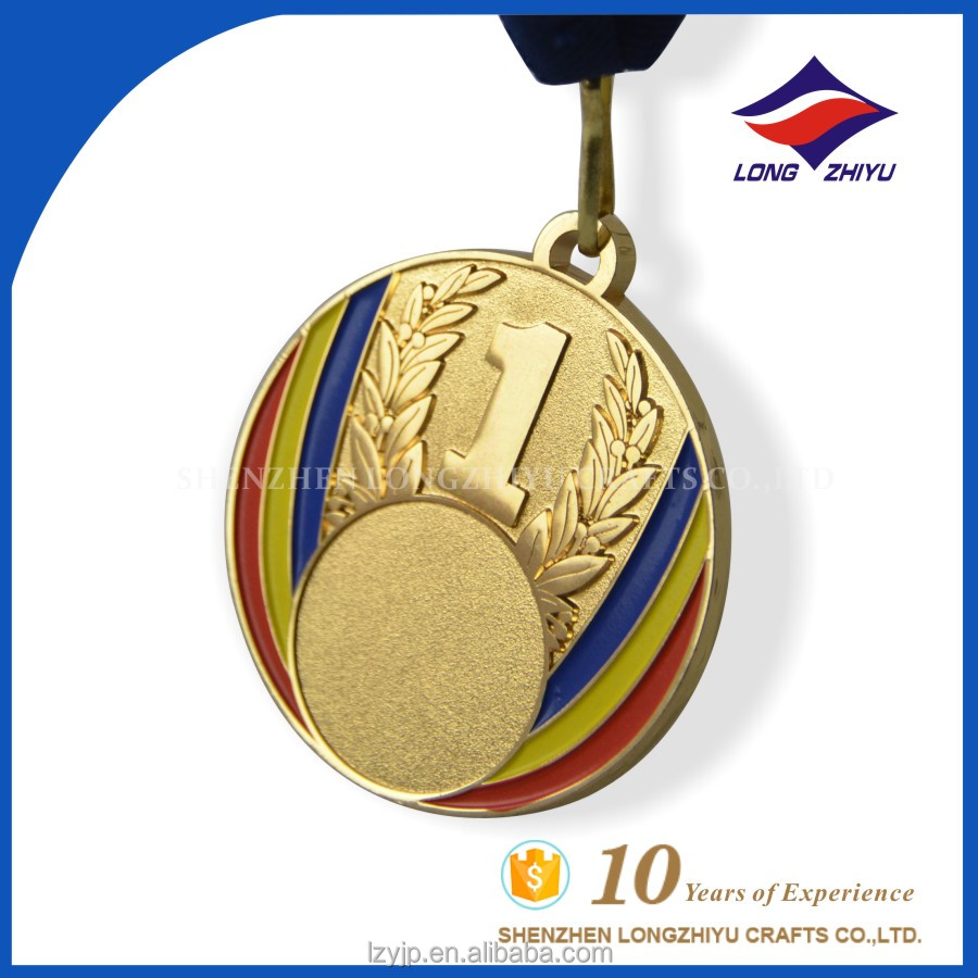 Wholesale Blank Award Medal World Championship Medal with Hanger