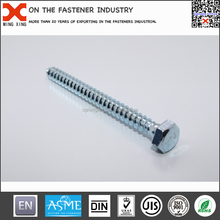 Hex washer head self tapping screw bolt full thread