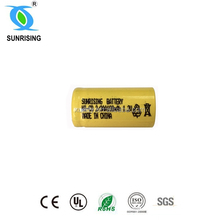 Nicd 2/3aa 100mah 1.2v battery