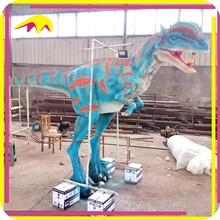 KANO5642 Playground Equipment Attractive Life Size Animated Realistic Dinosaur Costume For Kids