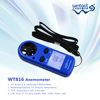Portable Digital Mini Anemometer WT816 with temperature(-10~45C) with competitive price