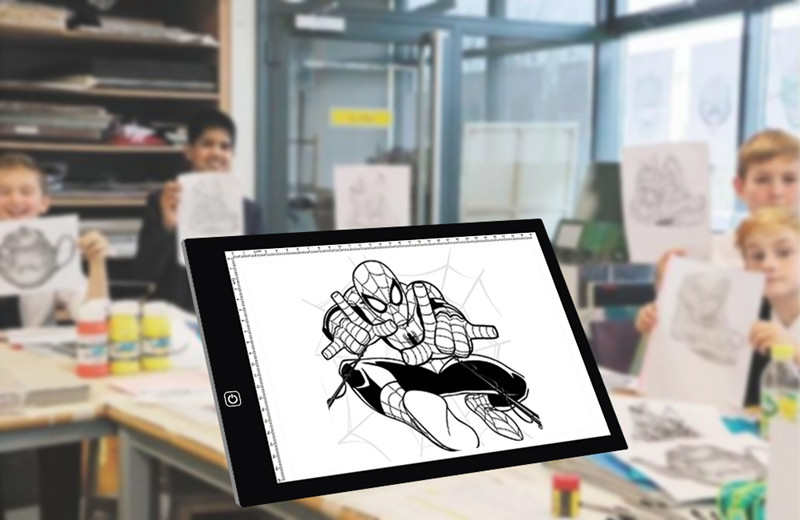 Cheap architecture A4 Drawing Pad Table Thin Adjustable Ram Tracer LED Light Box Smart Animation Portable tracing Board