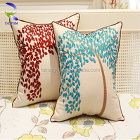 Chinese embroidered cushion cover sofa pillow