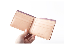 alibaba manufacture cowhide leather wallet for man