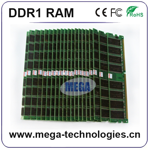 Computer memory High quality sd ddr ram 1gb pc400 ddr ram ddr1
