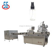 Automatic Small Glass Sprayer Filling And Capping Machine For Nasal Sprayer Perfume