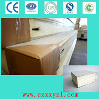 Cold room construction material pu /polyurethane panel