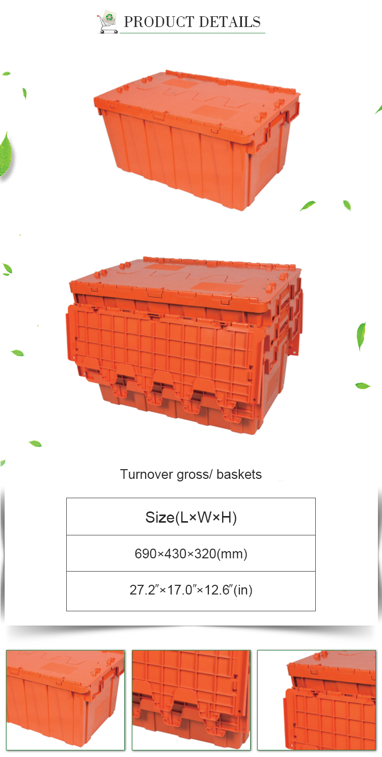 Stackable plastic moving crate sale stackable