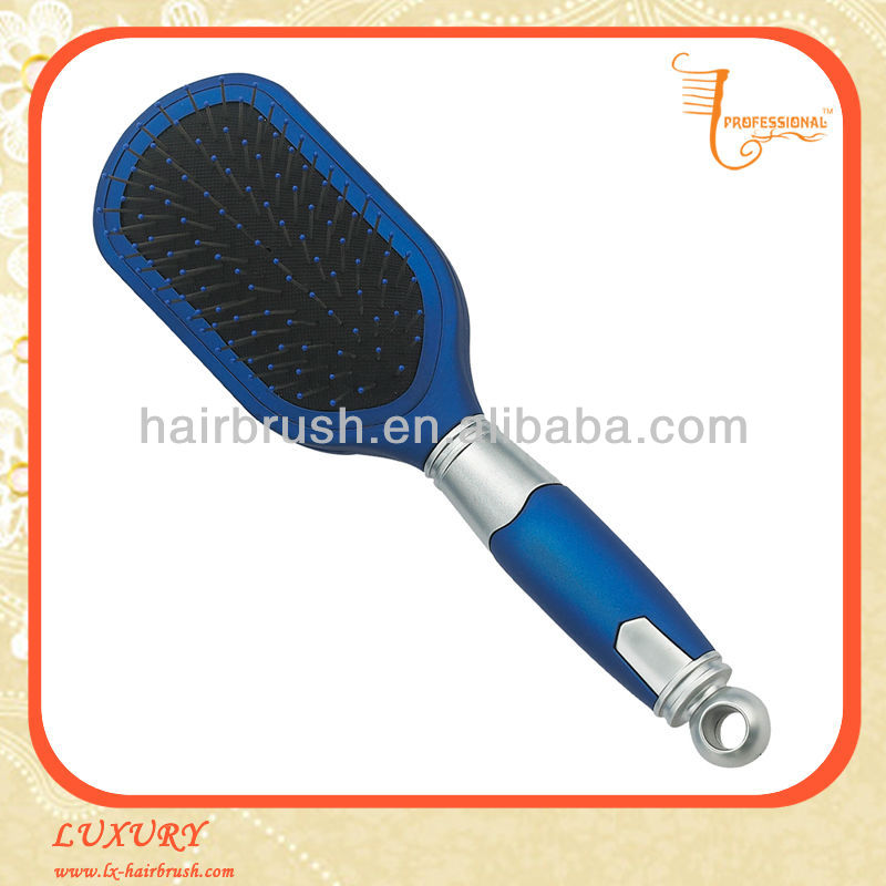 Blue plastic hair brush pictures in NingBo China