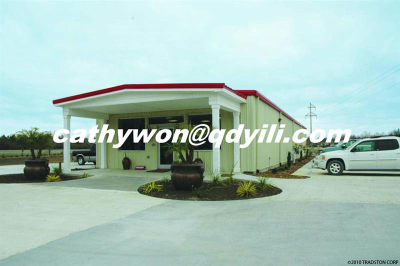 Qingdao yili steel structure factory from qingdao yili for Mineral wool pipe insulation weight per foot