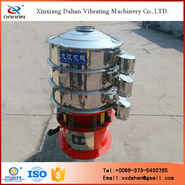 Hot sale high frequency rotary sand vibrating screen separator