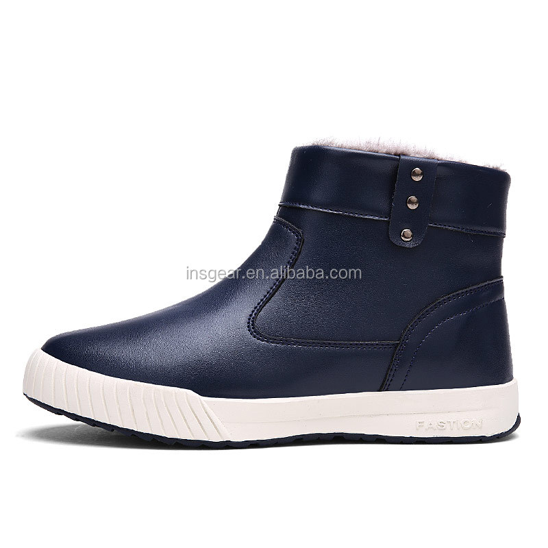 fashion warm pu upper rain german winter safety <strong>boots</strong> manufacturer in china