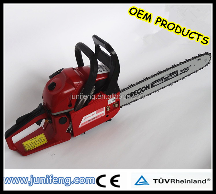 big power petrol chain saw with 52cc displacement