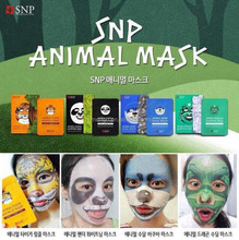 Best Selling products Korea Facial Mask Snp Animal Face Mask (Tiger, Panda, Otter, Dragon)