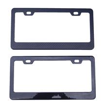 2016 High end carbon fiber license plate frame