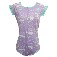 100% Cotton Adult Onesie Women Pajamas Sexy Big Baby Romper