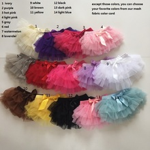 New Arrival Solid Color Cute Baby Chiffon Ruffle Bloomer