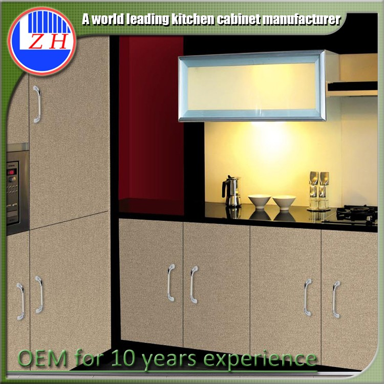2017 Ready made wooden kitchen cabinets imported from China