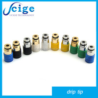 2014 hot new product colorful e cig drip tip for vaporizer