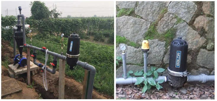 "Garden Water filter 2"" T Screen Filter Drip Irrigation System"
