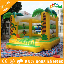 Size 4x4x4m durable kidsfavorite inflatable football jumper castle