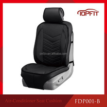 Universal fitting cooling air condition functioning car seat cover for suv, offroad and car seats