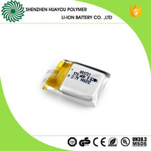 Customized Smallest 801721 Lipo 3.7v 170mAh Battery for Bluetooth