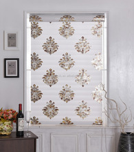 Elegant European style blinds at home for dimming light