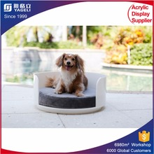 acrylic pet bed for small animals/acrylic pet bed for cats/acrylic clear cat bed pet bed