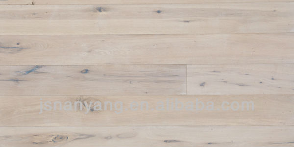 10mm 12mm 14mm 15mm White Oak Engineered Distressed Wood Flooring