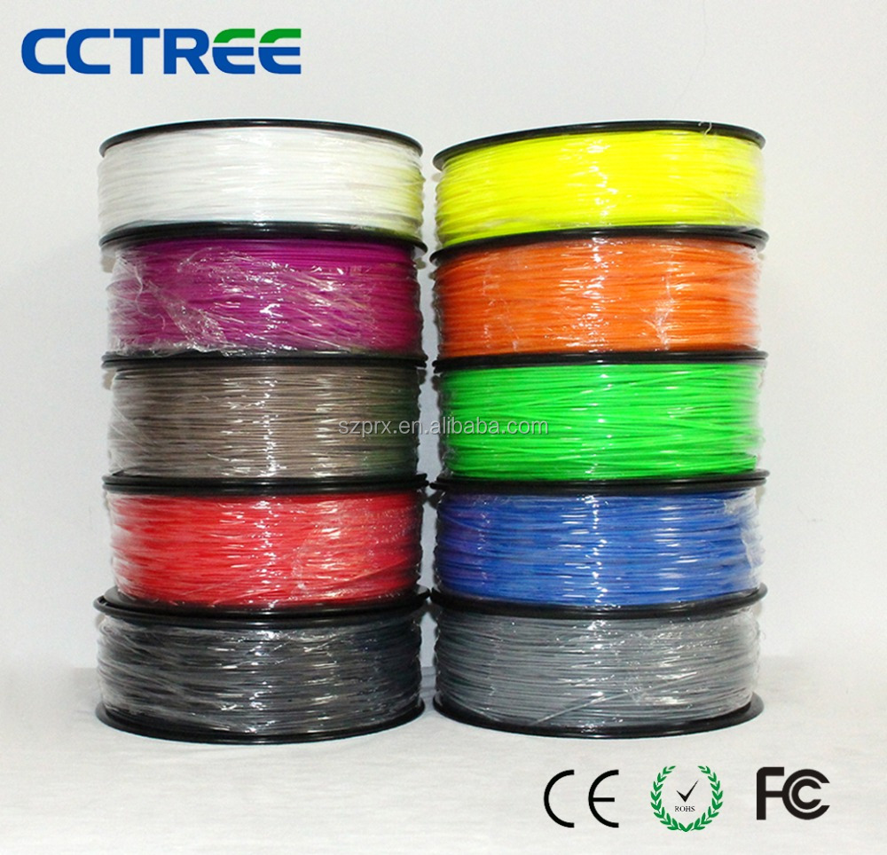 CCTREE 2017 New DIY 3D Printer Printing Material with 35colors